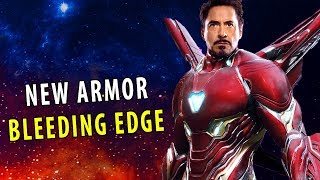 New Iron Man Suit BLEEDING EDGE ARMOR - Avengers: Infinity War (2018)