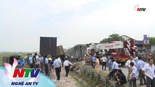 Toàn cảnh vụ tai nạn giao thông làm 4 toa tàu hoả bị lật ở Diễn Châu