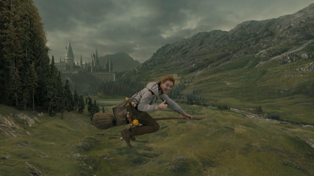 Hogwarts Wallpaper Hd Hogwarts Express Pov Hd On Ride Quot Hogsmeade To London