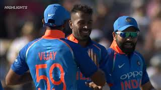 INDIA VS NEW ZEALAND 3rd ODI LIVE MATCH HIGHLIGHT 2019 INDIA TOUR OF NEW ZEALAND HARDIK PANDYA