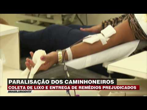 Bancos De Sangue Sofrem Com Baixo Estoque Durante Greve