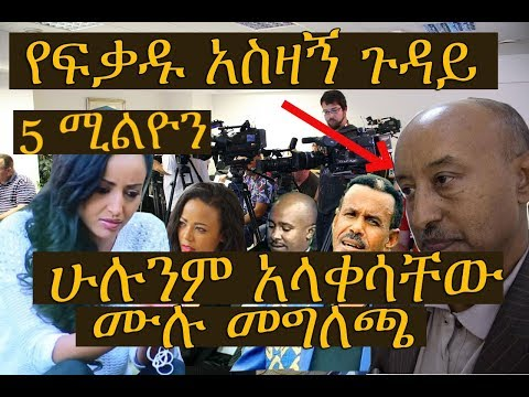 Ethiopian Breaking News - Press conference held for Artist Fekadu Teklemariam