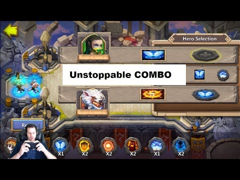 Ranked 2nd Overall Unstoppable Squad Showdown Set Up 7 For 7 Castle Clash