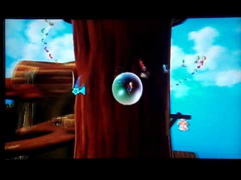 Super Mario Galaxy Walkthrough: Gold Leaf Galaxy Secret ...