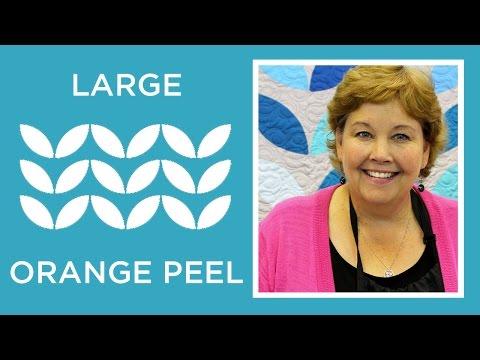 EASY Large Orange Peel Quilt / Lotus Quilt