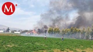 Explosión de polvorín en Zumpango deja al menos un muerto