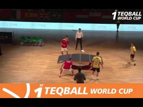 1 TEQBALL WORLD CUP - FINAL DOUBLE - BUDAPEST - JUNE 2017