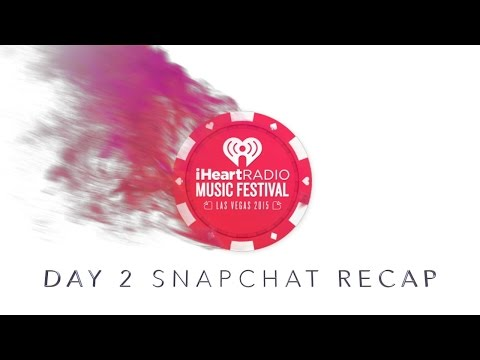Snapchat Recap From The IHeartRadio Music Festival 2015