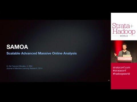 SAMOA: A Platform for Mining Big Data Streams - Gianmarco De Francisci Morales