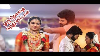 Sembaruthi Serial Marriage Photos with Song   Oru Devathai Vanthu Vittal Full song With Lyrics