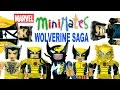 Marvel Minimates The Wolverine Saga SDCC 2013 Exclusive Box Set