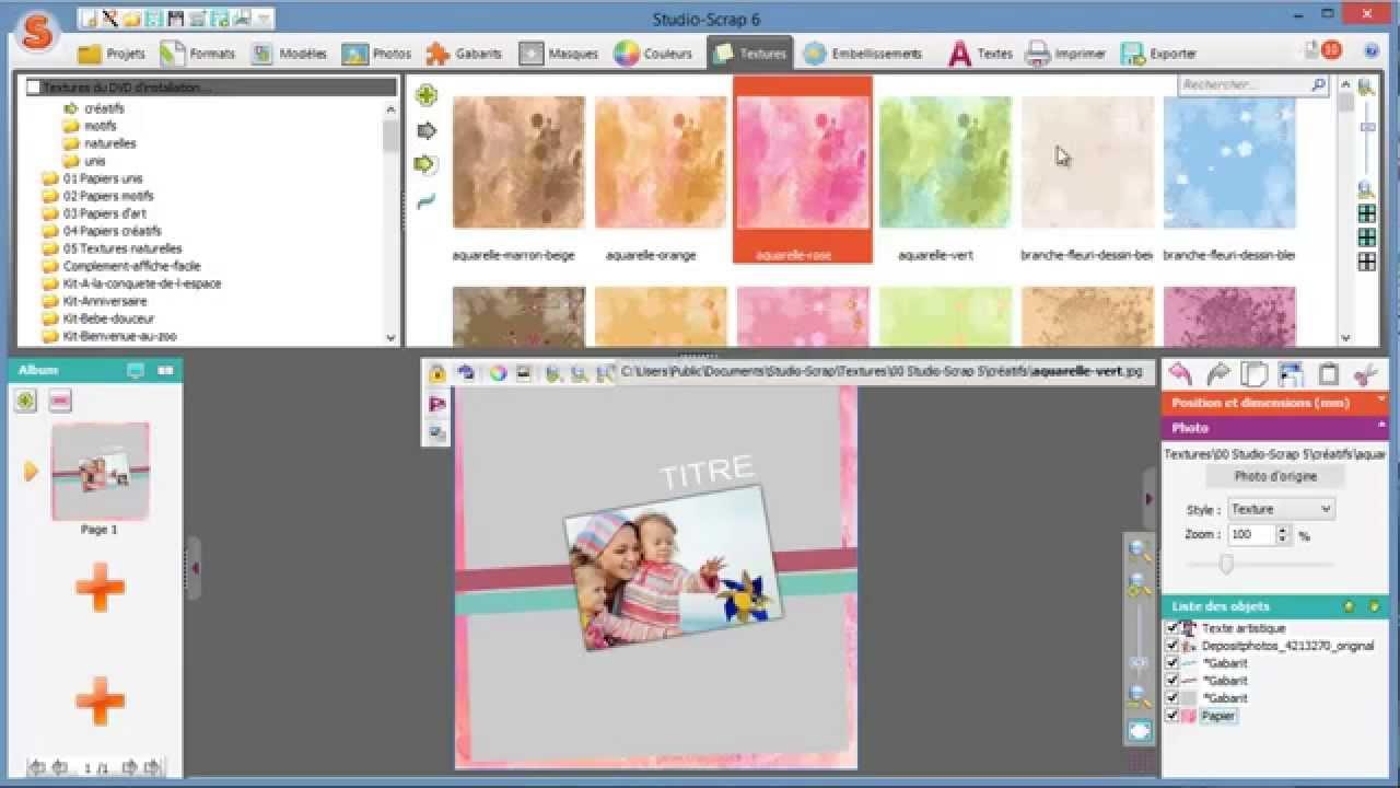 Le Logiciel Pour Vos Montages Photos Studio Scrap
