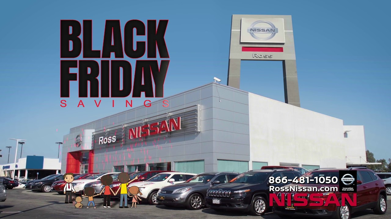 Ross Nissan El Monte   Black Friday Savings