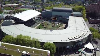 Providence Park expansion tour, home of the Portland Timbers and Portland Thorns