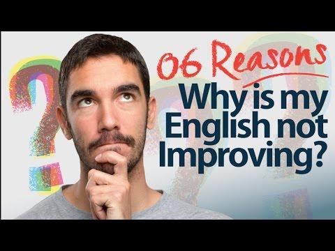 6 lý do lý giải vì sao khả năng nói tiếng Anh của bạn không được cải thiện?