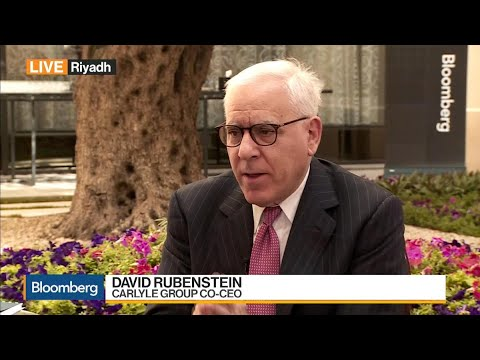 Carlyle's Rubenstein on Succession Plan, Diversification