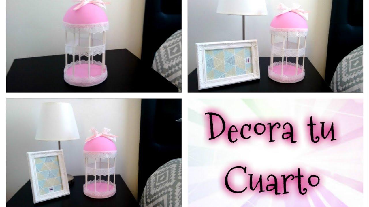 Diy decora tu cuarto haz tu propia jaula decorativa for Disena tu propia habitacion