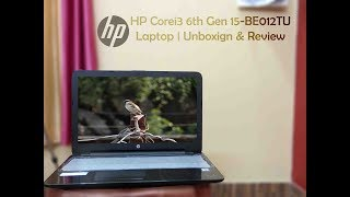 HP Corei3 6th Gen 15-BE012TU Laptop 4 GB 1TB HD DOS Unboxing amp Review Perfect Laptop under 28K