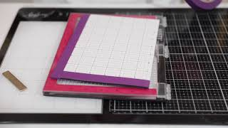 Two Minute Tip -  Never Need Magnets in Your MISTI Stamp Platform Again - How To Install Sticky Grid