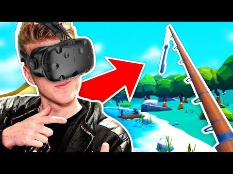 FISHING IN VR! (Crazy Fishing)