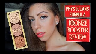 PHYSICIANS FORMULA BRONZE BOOSTER REVIEW amp DEMO