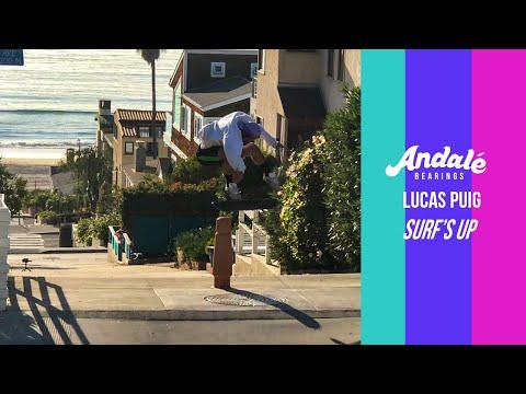 Lucas Puig: Surf's Up   Andalé Bearings