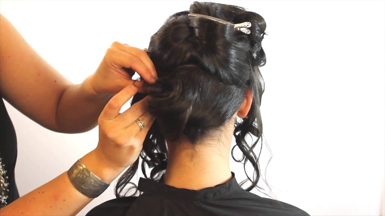 Chignon Hairstyle Easy How to featuring Barrett Stillitano Gratitude Salon Education