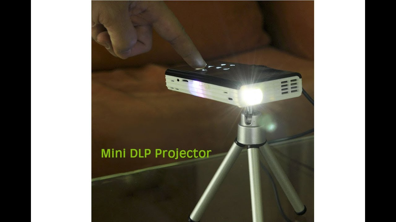 Mini android dlp projector with 120 lumen review chinavasion youtube for Small projector reviews