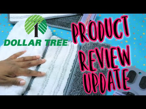 UPDATE!! DOLLAR TREE MICROFIBER MOPS REVIEW| CLEANING PRODUCTS REVIEW 2020 | DIY | SHANETTADIYLIFE