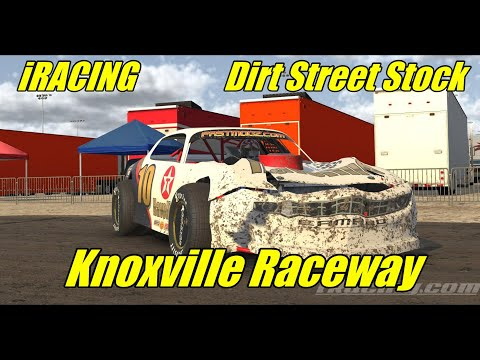 IRacing PURE SOUND Knoxville Raceway Dirt Street Stock