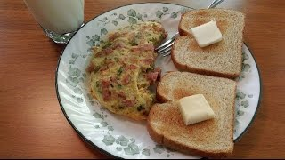 Ham & Cheese Omelet - The Hillbilly Kitchen