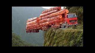 Most Amazing Truck Driving Skills Compilation #1
