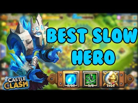 ONE OF THE TOP 5 BEST SLOW DOWN HERO EVER - CASTLE CLASH