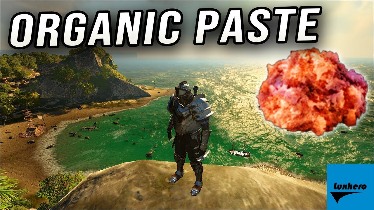 Atlas – How to get Organic Paste