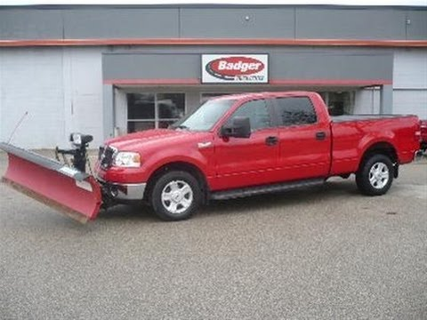 used 2008 f 150 xlt 4x4 plow truck milwaukee wi youtube. Black Bedroom Furniture Sets. Home Design Ideas