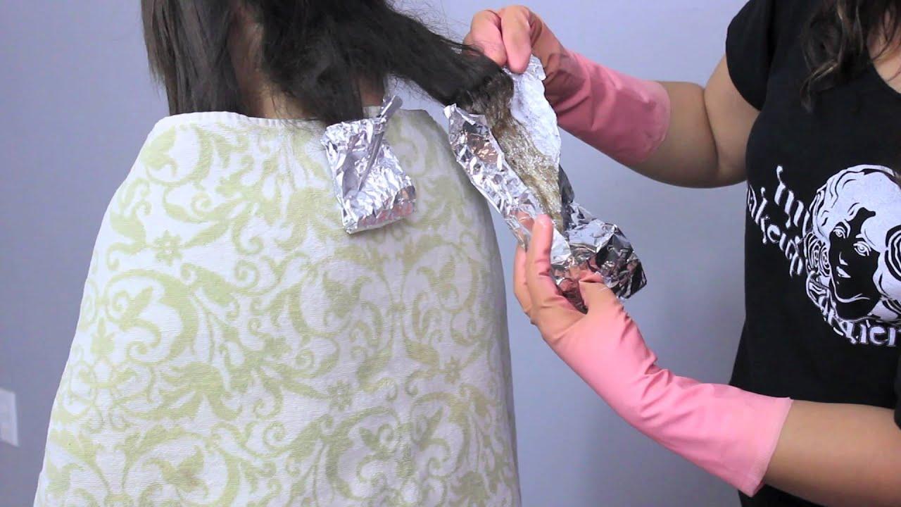 Como decolorar el cabello y pintar con fantasa  How to