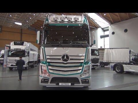 Mercedes-Benz Actros 1853 Tractor Truck (2018) Exterior and Interior