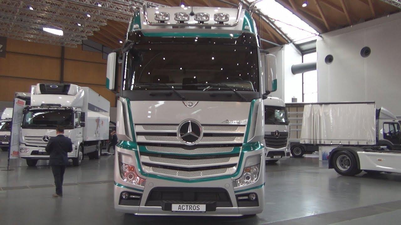 Mercedes Benz Actros 1853 Tractor Truck 2018 Exterior And Interior