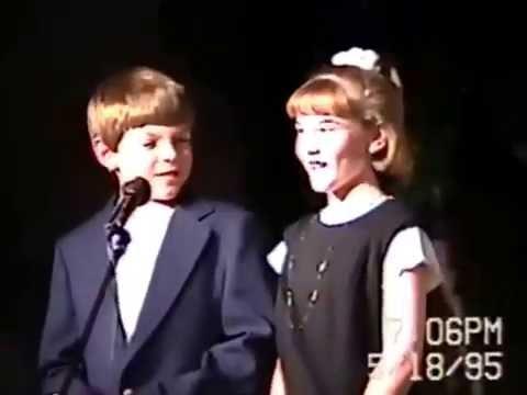 May 1995 Spring Concert- Queen of Angels school- Austin MN