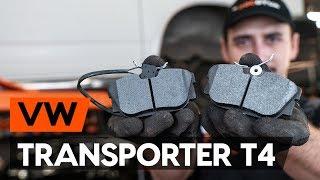 Hvordan udskiftes bremseklosser bag on VW TRANSPORTER 4 (T4) [TUTORIAL AUTODOC]