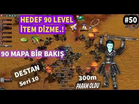 METİN2-TR Destan 90 level item dizmeye başlıyorum.!!sürgünden 90 mapına bir göz attım.!