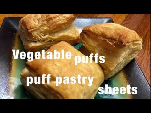 Veg puff | Vegetable puffs using puff pastry sheets | veg puff pastry sheets | puff pastry sheets