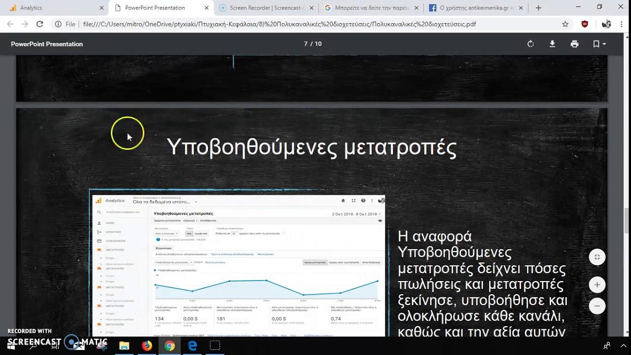Google Analytics Πολυκαναλικές Διοχετεύσεις
