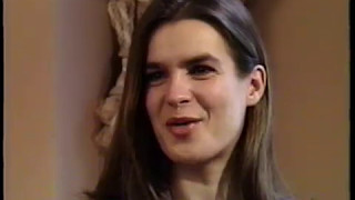 Rare! 1995 Interview with Katarina Witt (Figure Skater & 2x Olympic Gold Medalist)