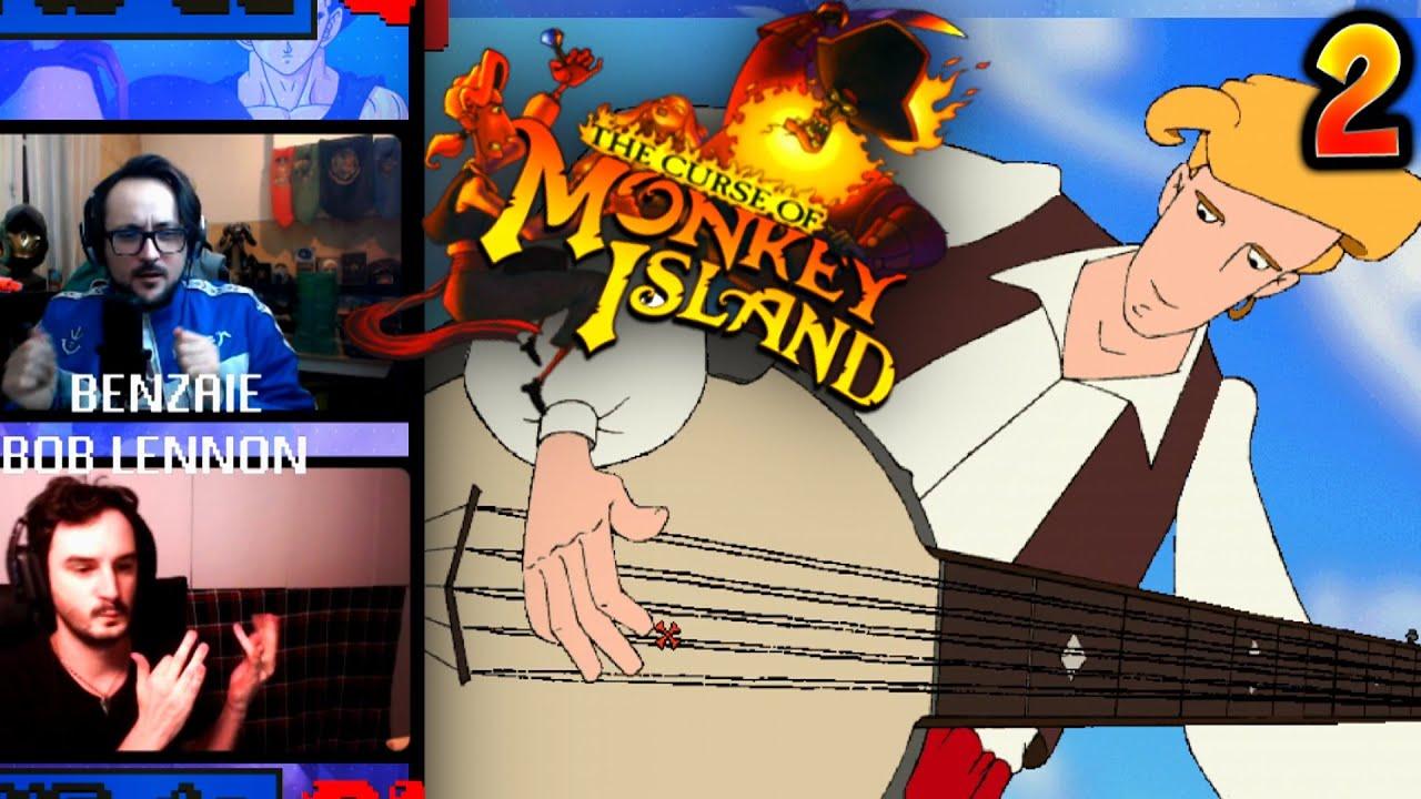 HEAVY METAL BANJO !! 290 DE QI - Monkey Island 3 - Ep.2 avec Bob & Benzaie