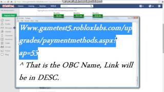 [ROBLOX] How To!: Get FREE OBC Lifetime. {DESC}