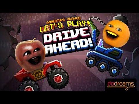 Annoying Orange Plays - Drive Ahead vs Midget Apple