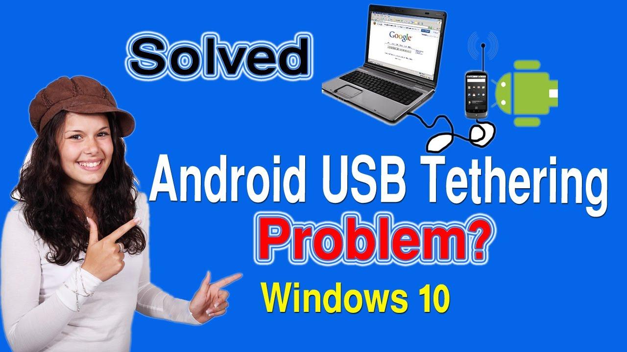 usb tethering windows 10