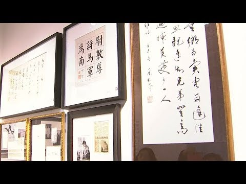 Artist puts modern stroke on ancient art of Chinese calligraphy
