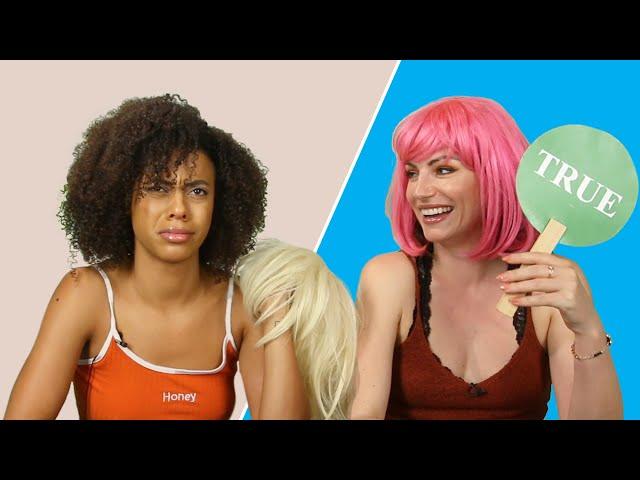 Friends Play True Or False: Hair Edition